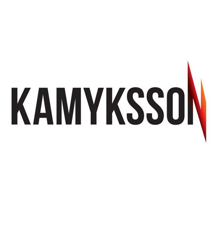 The logo of a Swedish company – Kamyksson
