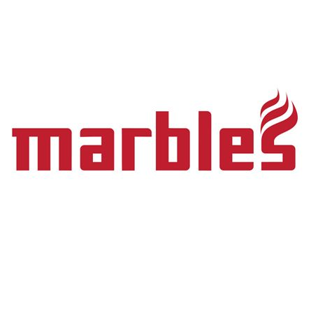 A logo for Marbles